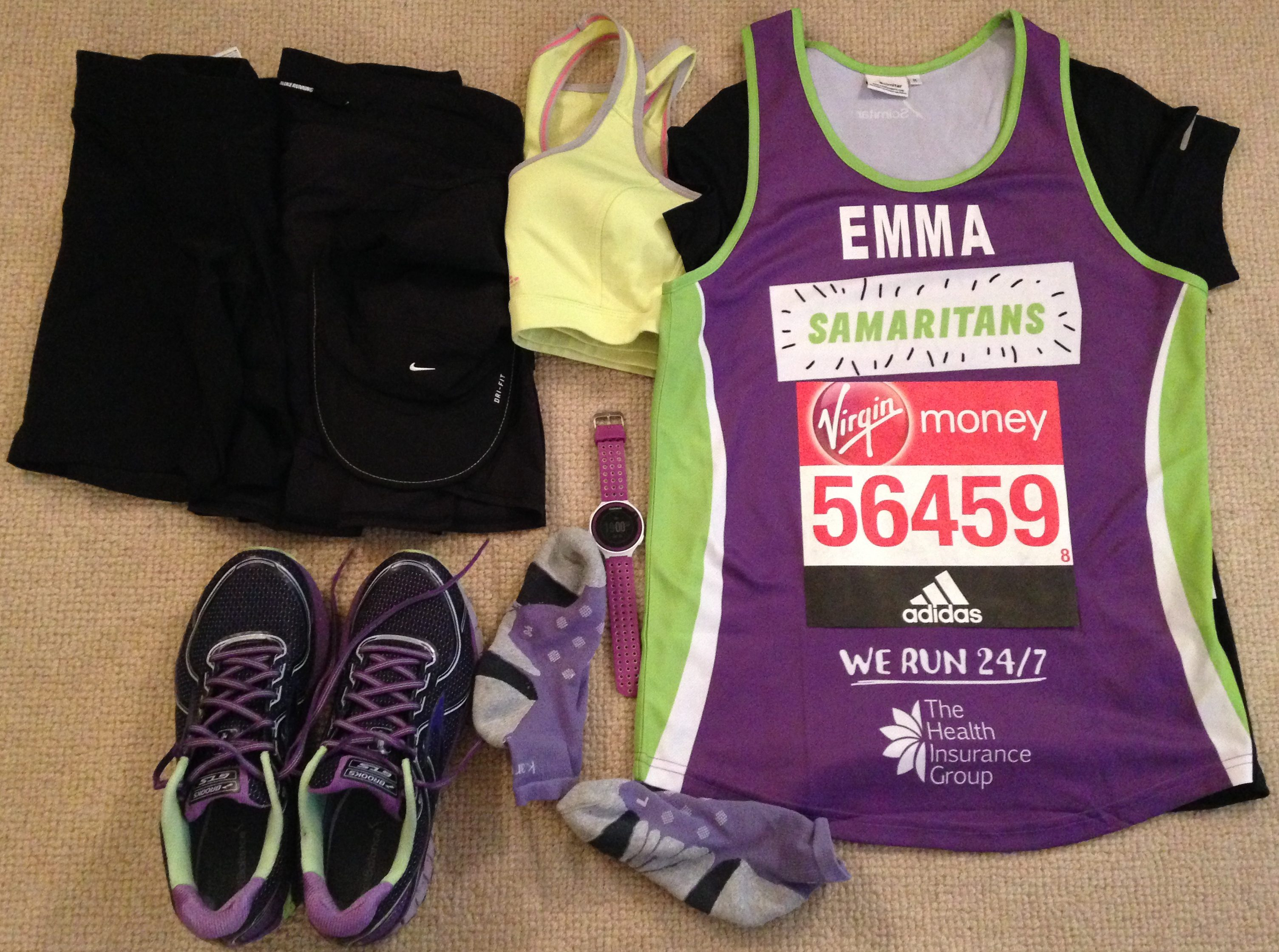 XS London Marathon 2020 T shirt I got my place t shirt ballot Training Running